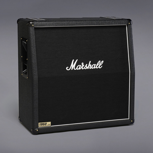 "Marshall 1960A 300W 4x12"" Switchable Mono / Stereo Angled Cabinet"